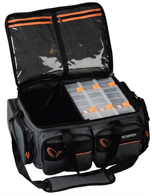 Savage gear System Box Bag XL 3 Boxes + Waterproof Cover
